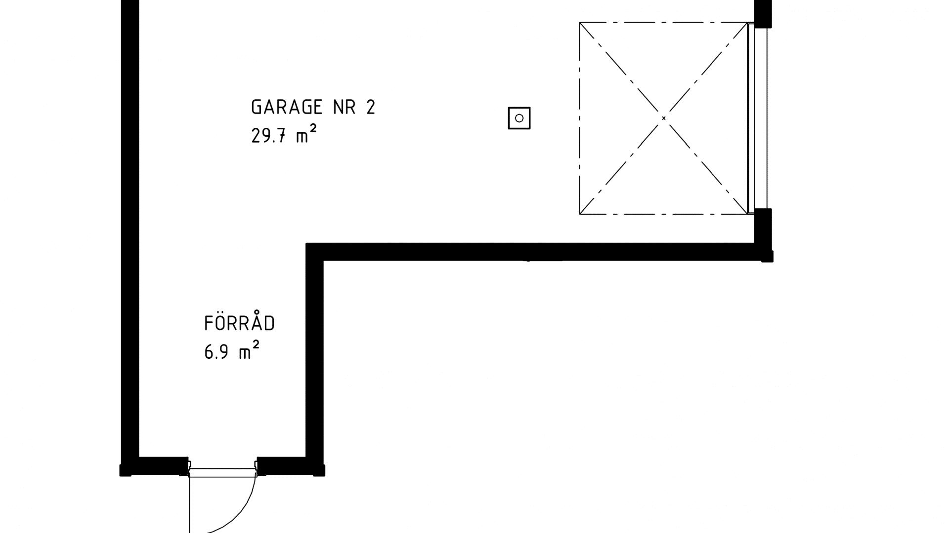 Garage 3D vy nr 2