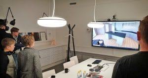 Upplev ditt hus redan på skisstadiet med VR